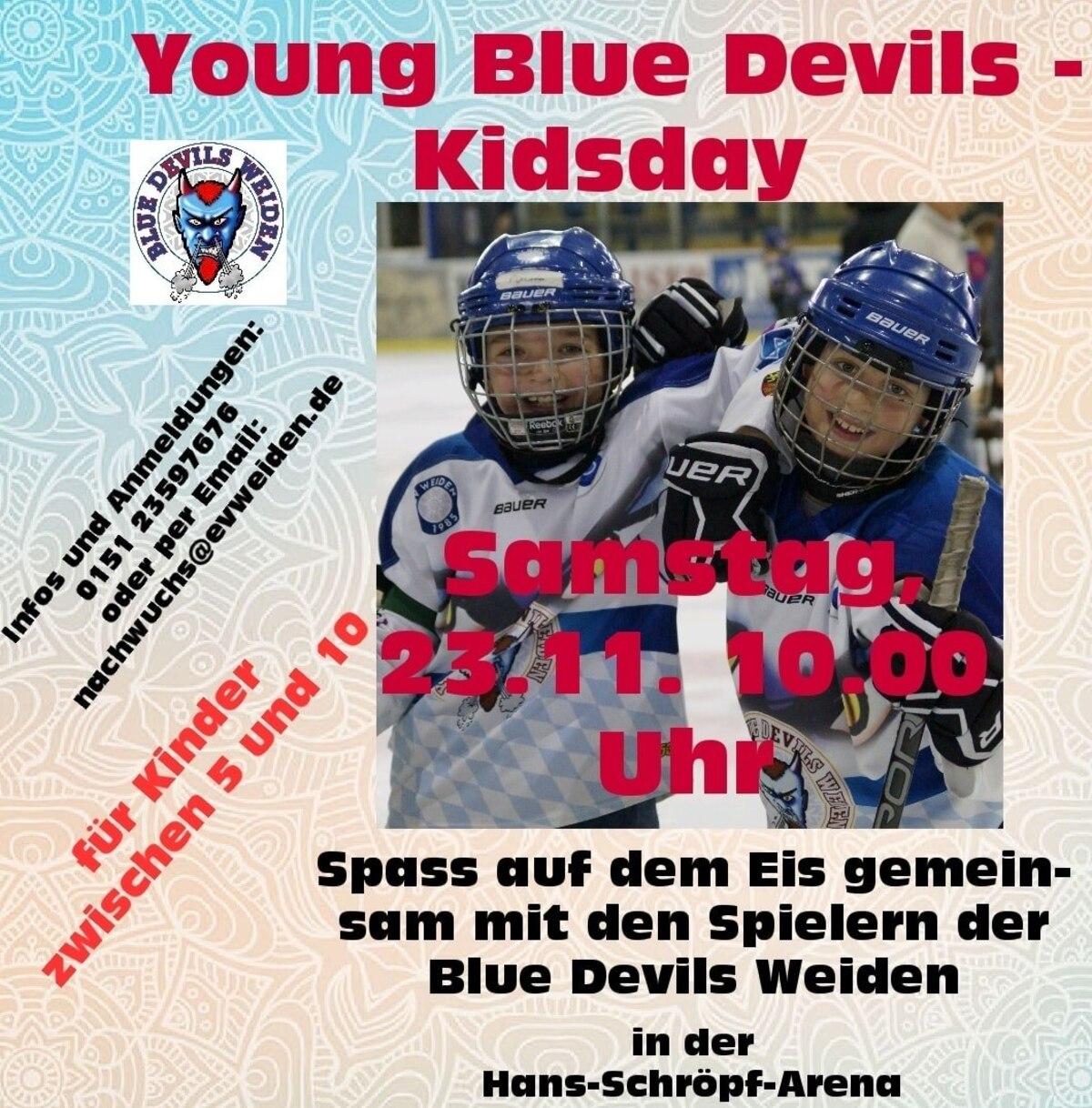 © Foto: Eishockey Young Blue Devils Weiden