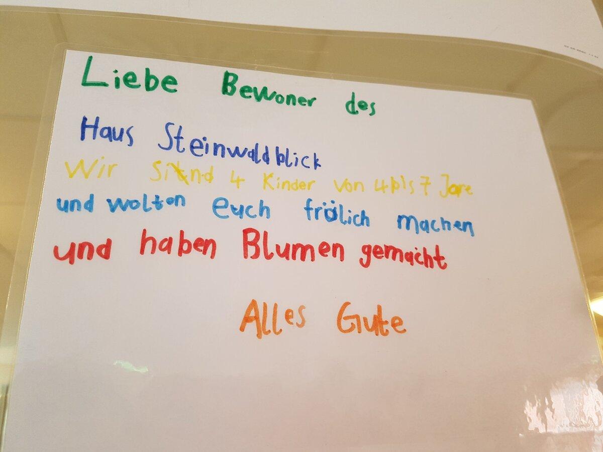 © Foto: Veronika Schleifenheimer / Briefe für unsere Senioren