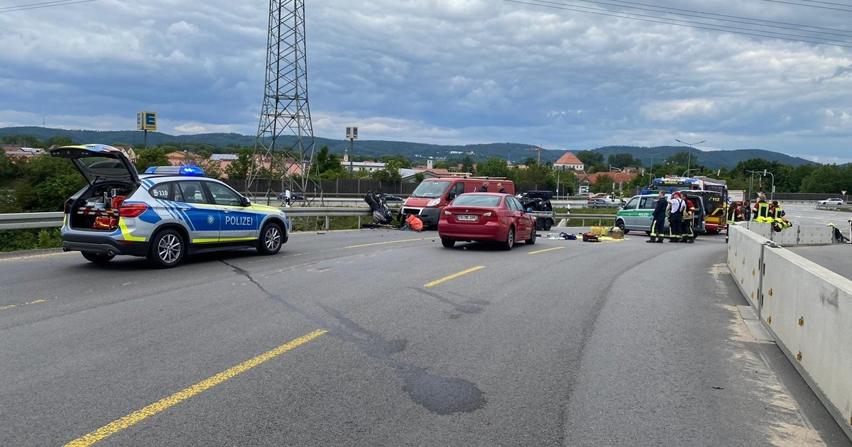 Motorradunfall Harz 2021